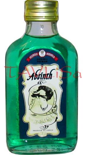 Absinth Zelený 60% 0,1l Fruko-Schulz