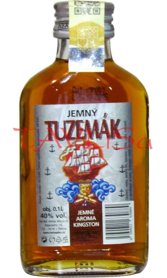 Tuzemák Jemný 40% 0,1l Herba Alko placatice